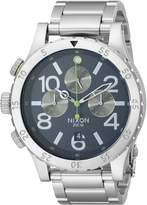 Nixon Men's A4861981 48-20 Chrono Watch