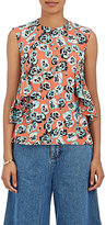 Marni Women's Ruffle Floral Sleeveless Blouse