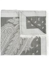 Etro fringed shawl