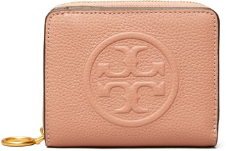 Tory Burch Perry Embossed Leather Bifold Wallet
