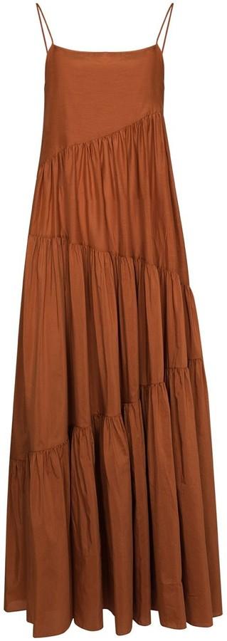 Matteau Open Back Maxi Dress