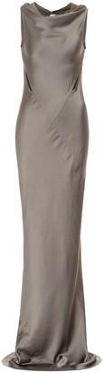 Rick Owens Skorpio satin gown