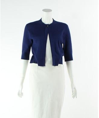 Erdem Navy Wool Jackets
