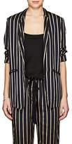 Giada Forte Women's Striped Twill One-Button Blazer