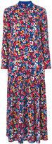 Love Moschino floral long dress - women - Polyamide/Polyester/Spandex/Elastane/Viscose - 38