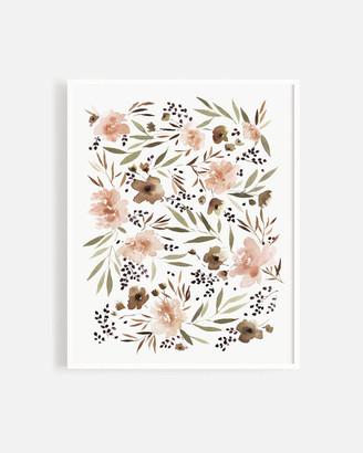 Lulu & Georgia Rylee + Cru Floral Art Print