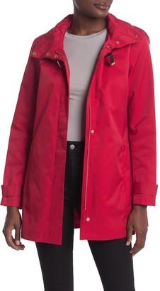 Cole Haan Stowaway Hood Zip Jacket