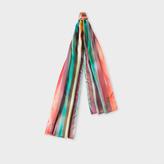 Paul Smith Men's Silk 'Artist Stripe' Scarf