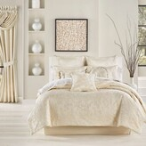 Thumbnail for your product : J Queen New York Blossom 4-Piece King Comforter Set in Ivory
