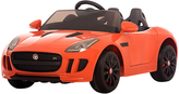 Orange Licensed Jaguar F Ride-On