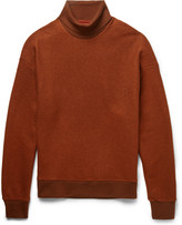 Wooyoungmi - Two-tone Wool-blend Rollneck Sweater