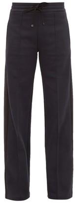 Moncler Side-stripe Cotton-blend Track Pants - Navy