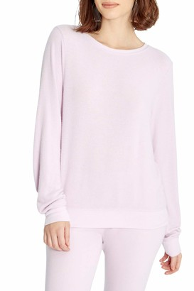 Wildfox Couture Women's Baggy Beach Long Sleeve Pullover Sweatshirt