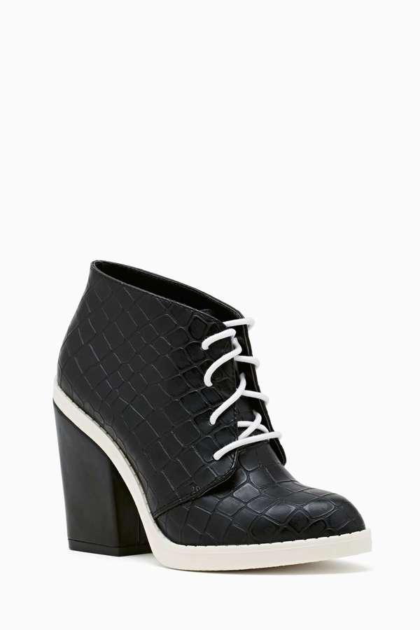 Nasty Gal Shoe Cult Rosario Booties - Black