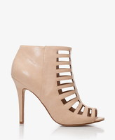 Forever 21 Cutting Edge Stiletto Cutout Booties