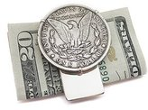 Tokens & Icons Morgan Silver Dollar Money Clip