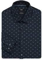 HUGO BOSS Men's Lukas Regular-Fit Cotton Dress Shirt