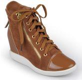Journee Collection micha wedge sneakers - women