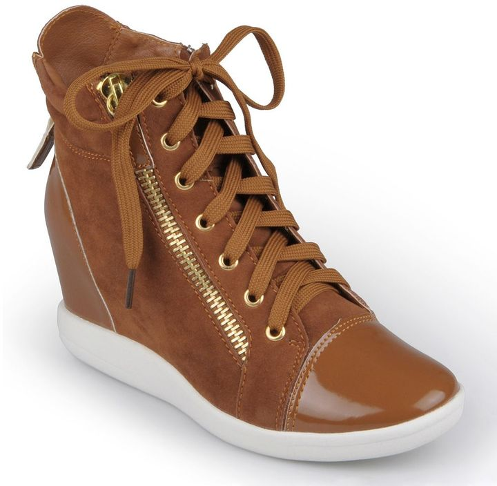 Journee Collection micha wedge sneakers - women