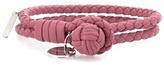 Bottega Veneta Knot Woven Leather Bracelet