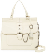 Badgley Mischka Beulah Leather Satchel