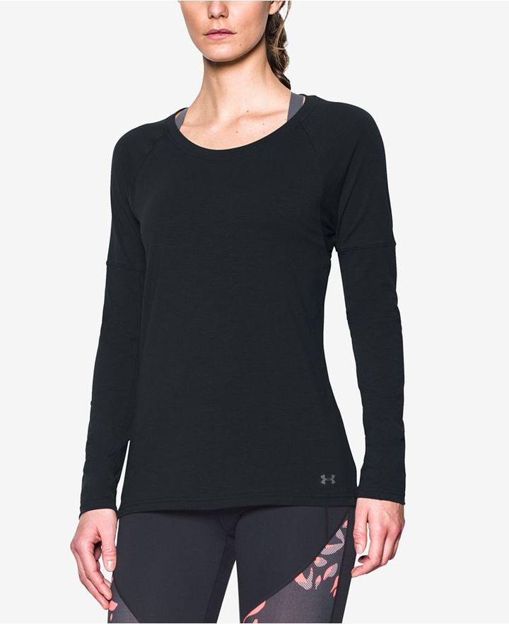 Under Armour Favorite Long-Sleeve T-Shirt