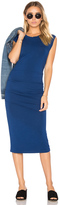 Bobi Jersey Bodycon Dress