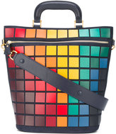 Anya Hindmarch large Pixels tote - women - Leather/Suede - One Size