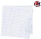 Alara Beach Blanket Pocket Square & Lapel Pin Set