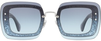 Miu Miu Reveal square frame sunglasses