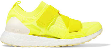 adidas by Stella McCartney Ultraboost X Neon Primeknit Sneakers - Yellow