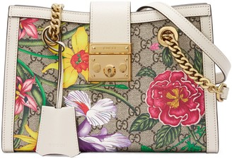 Gucci Padlock GG Flora small shoulder bag