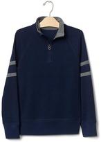 Gap Zip mockneck sweatshirt