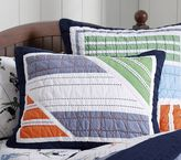 Pottery Barn Kids Brady Sports Standard Quilted Sham