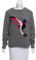 The Elder Statesman Intarsia Pattern Cashmere Sweater w/ Tags