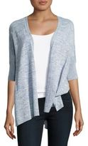 Lord & Taylor Oversized Cotton Blend Cardigan