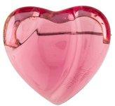Baccarat Crystal Heart Brooch
