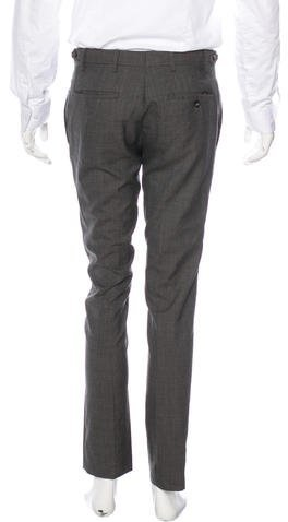 Burberry Wool Houndstooth Pants