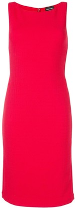 Emporio Armani Textured Fitted Dress