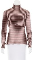 M Missoni Wool-Blend Turtleneck Top