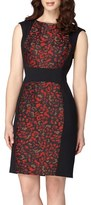 Tahari Petite Women's Jacquard Sheath Dress