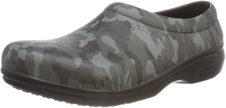 Crocs On The Clock Graphic Work Slip-On Unisex Adults' Clogs