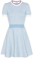 Miu Miu Knitted cotton dress
