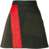 Etro fitted mini skirt
