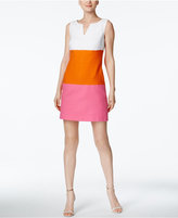 Trina Turk Miss Brady Colorblocked Sheath Dress