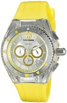 Technomarine Women's TM-115169 Cruise Pearl Analog Display Quartz Yellow Watch