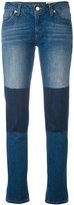 MICHAEL Michael Kors contrast patch jeans