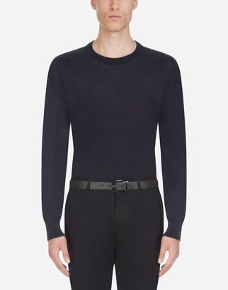 Dolce & Gabbana Crewneck Sweater In Cashmere