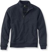 L.L. Bean Athletic Sweats, Reversible Quarter-Zip Traditional Fit