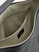 HUGO Mayfair Hobo Leather Black Bag